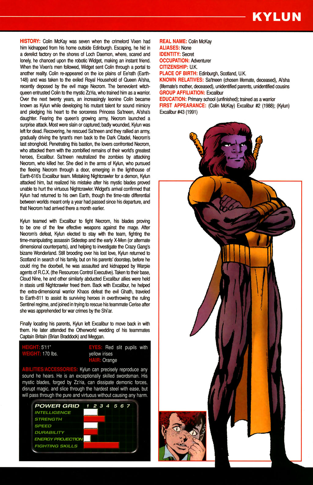 Read online All-New Official Handbook of the Marvel Universe A to Z comic -  Issue #6 - 25