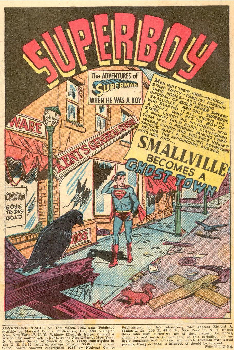 Read online Adventure Comics (1938) comic -  Issue #186 - 3