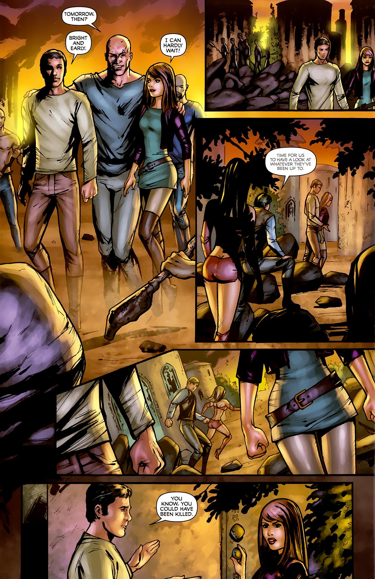 Read online Stargate: Daniel Jackson comic -  Issue #3 - 18