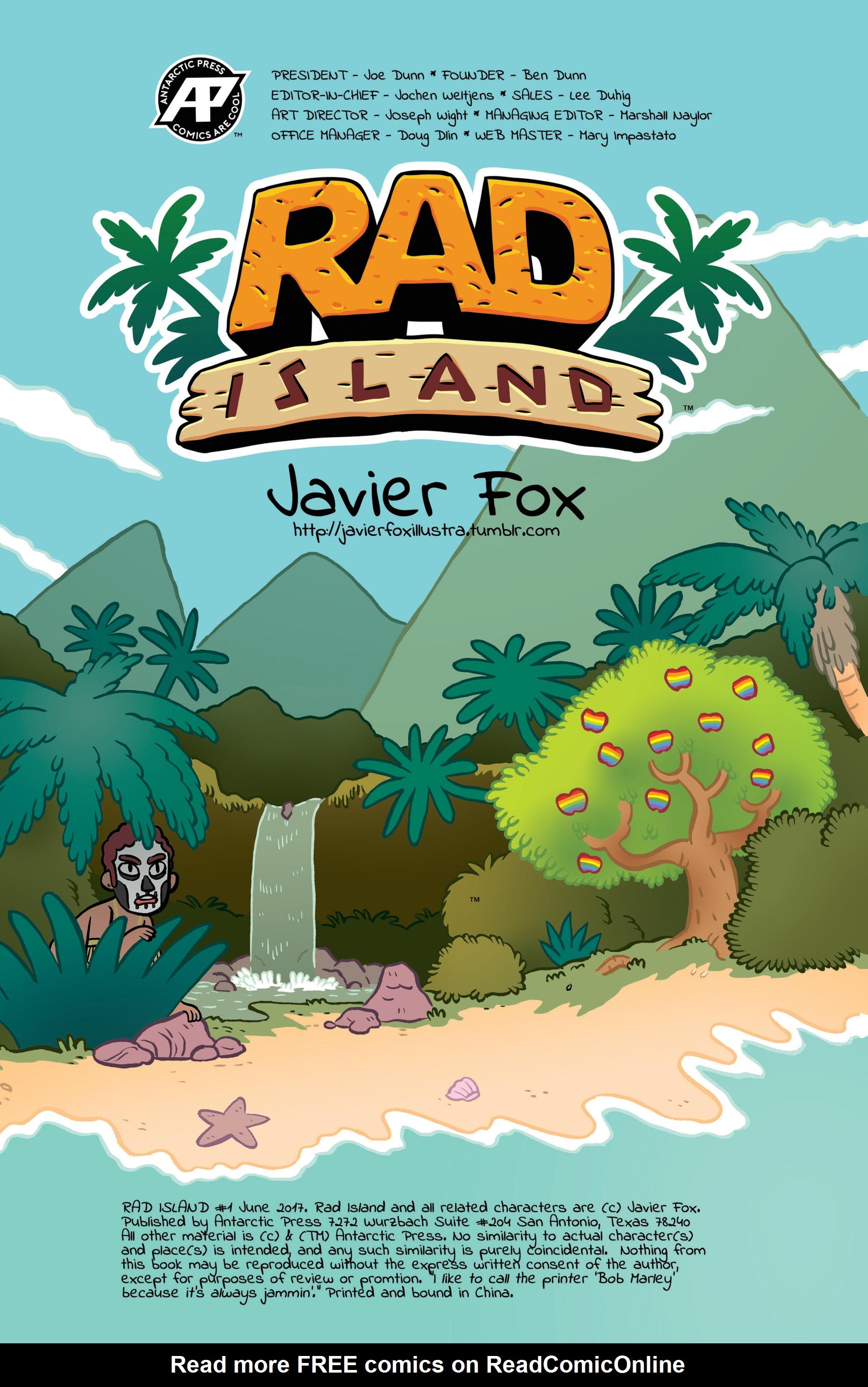 Read online Rad Island comic -  Issue # Full - 2