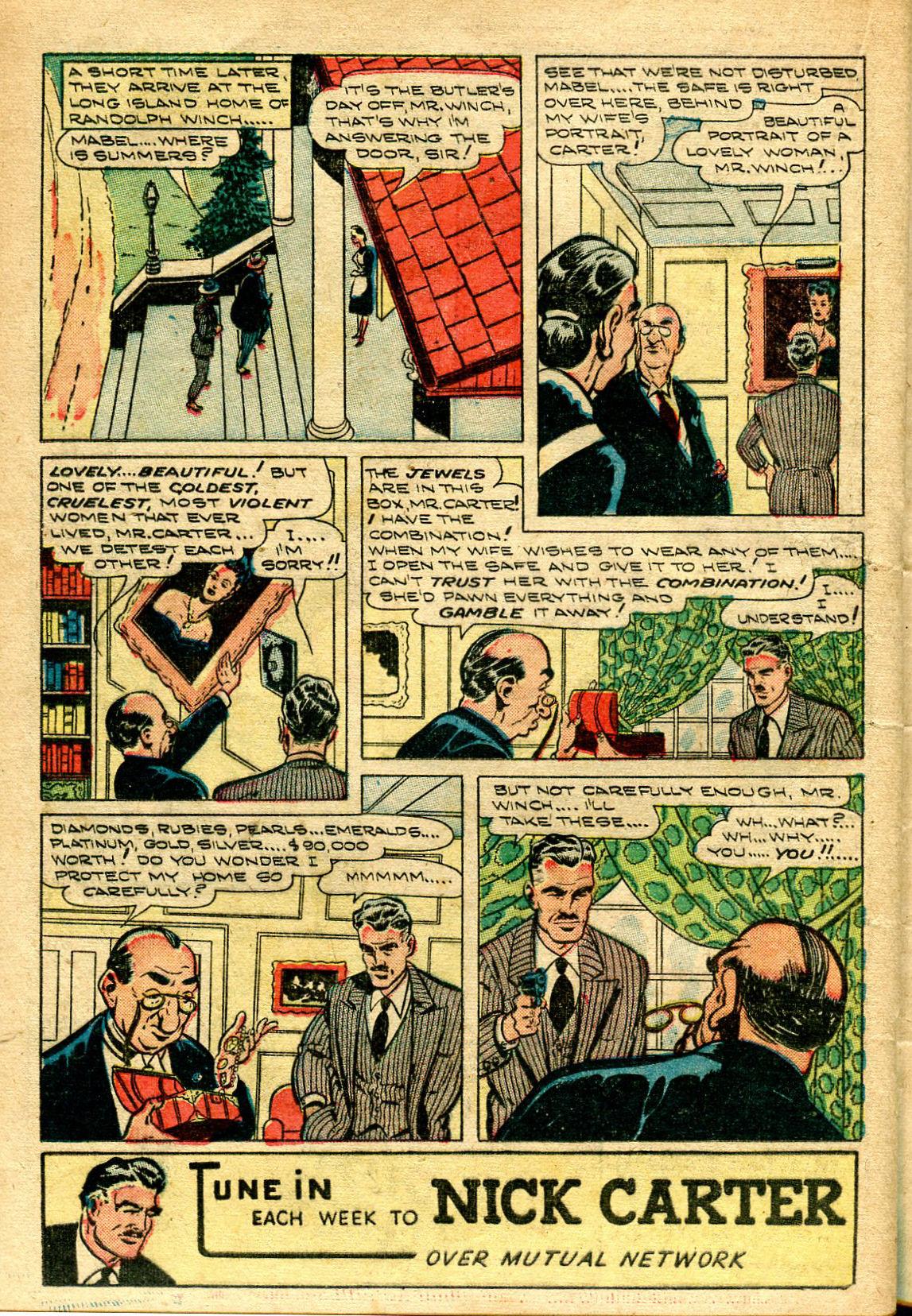 Read online Shadow Comics comic -  Issue #96 - 30