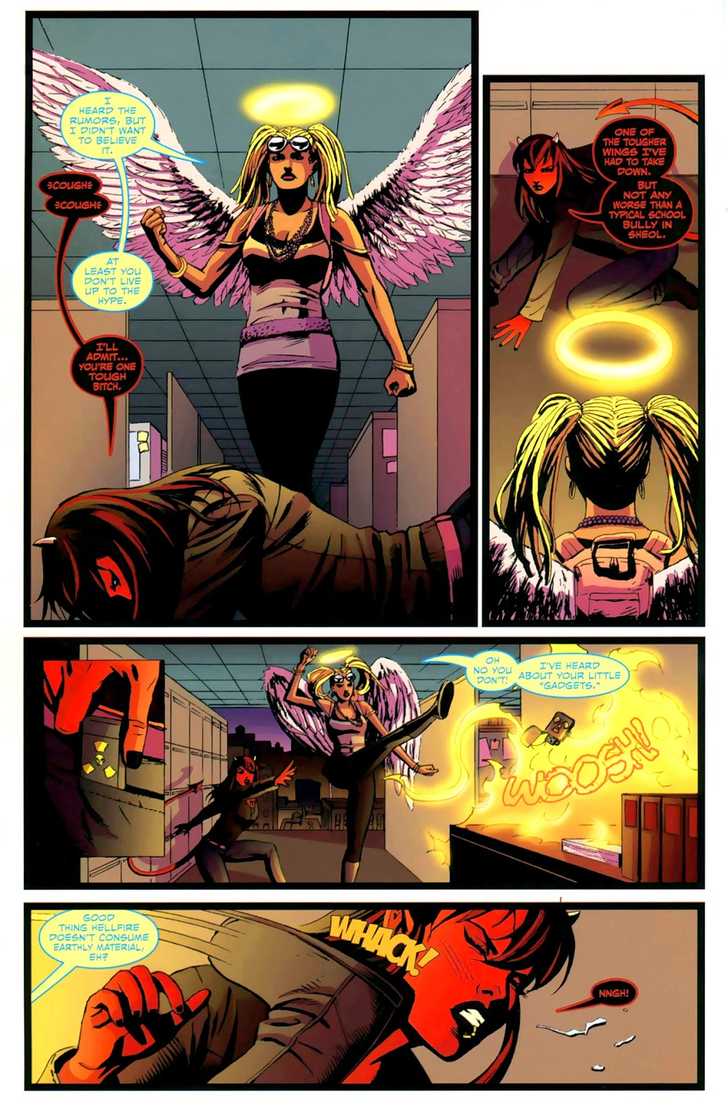 Read online Mercy Sparx (2008) comic -  Issue #2 - 4