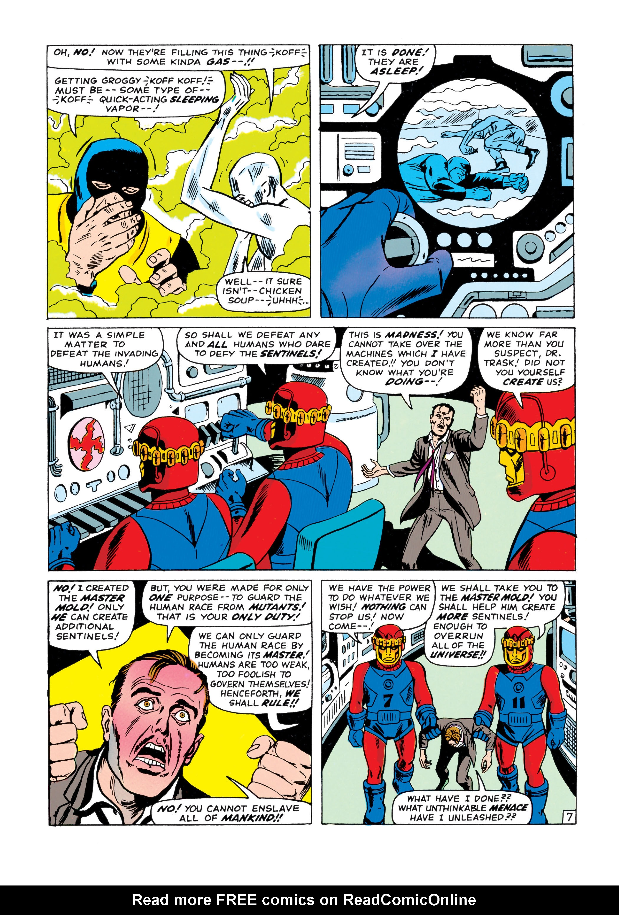 Read online Uncanny X-Men (1963) comic -  Issue #15 - 8