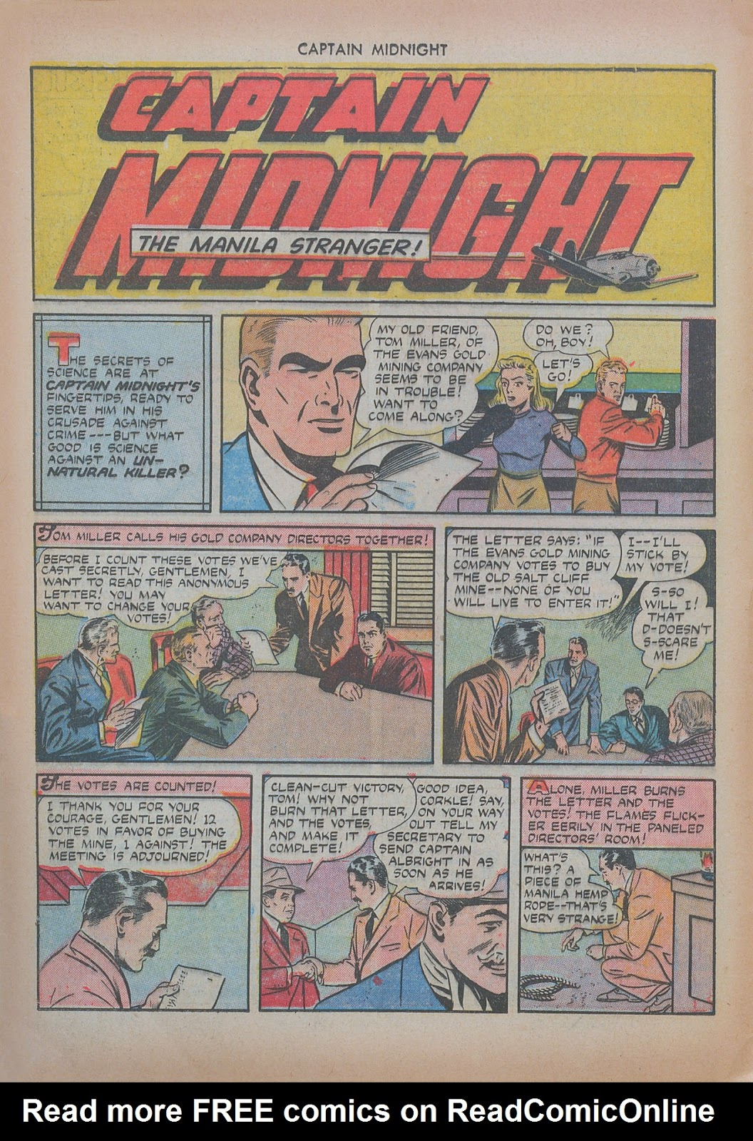 Captain Midnight (1942) issue 20 - Page 16