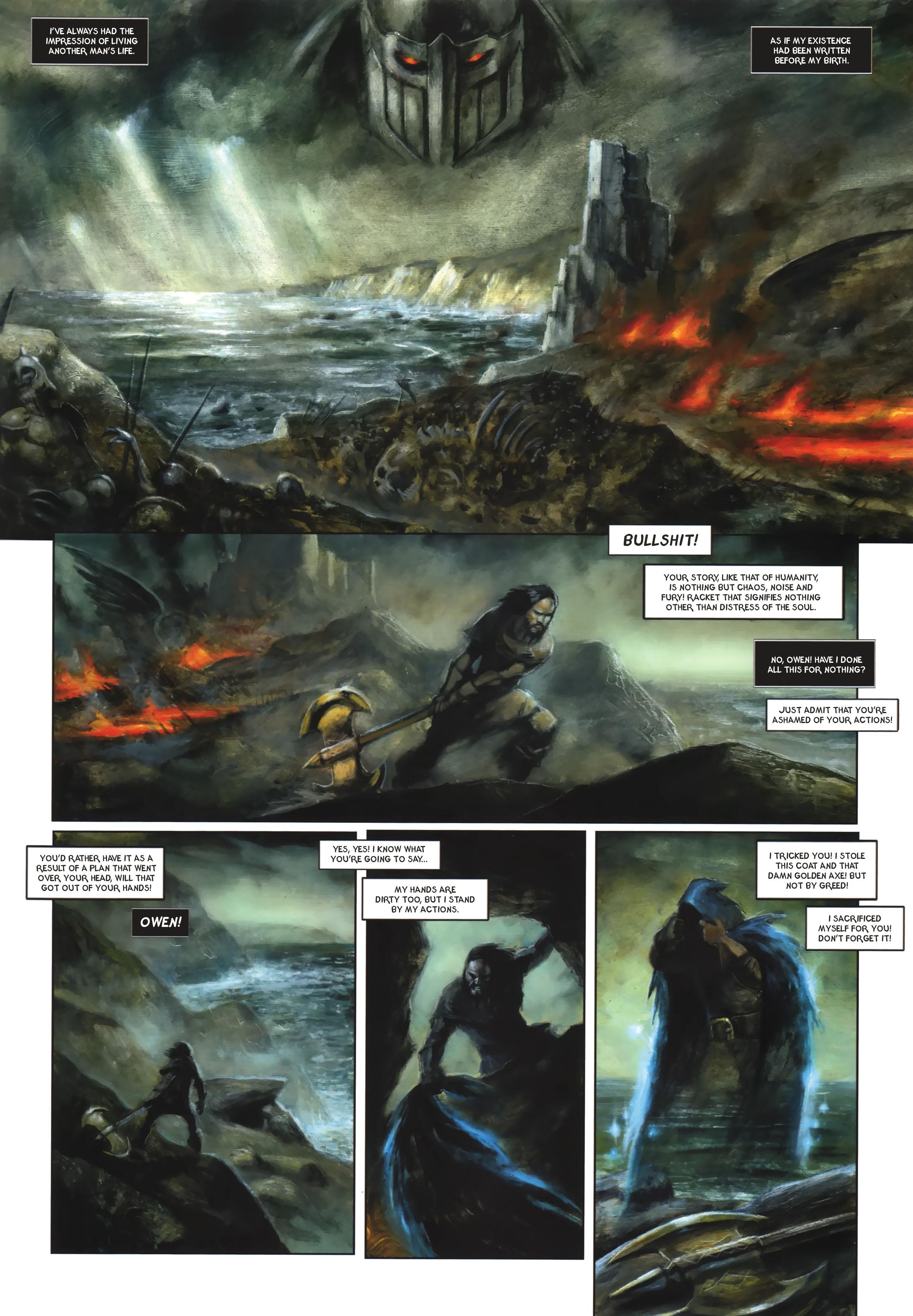 Read online Arawn comic -  Issue #6 - 4