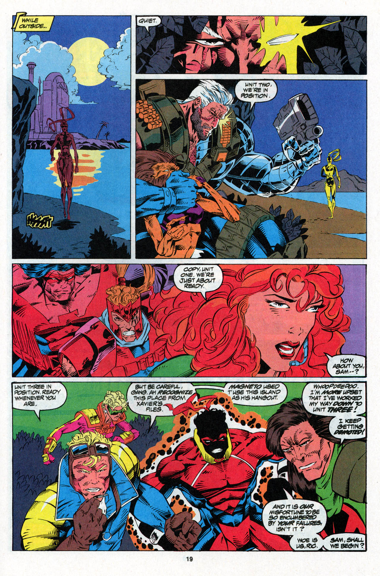 Read online X-Force (1991) comic -  Issue #27 - 20