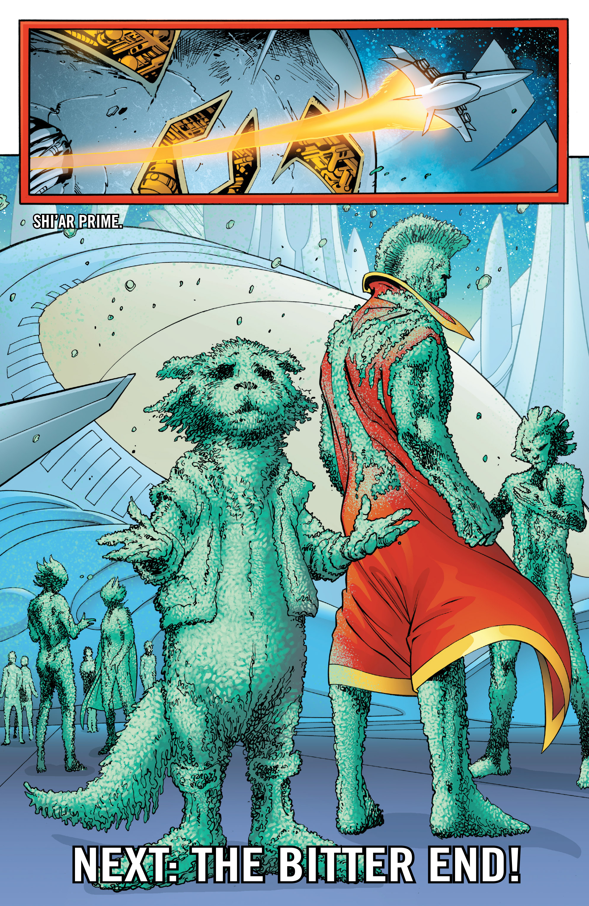 Read online Guardians of the Galaxy: Mother Entropy comic -  Issue #4 - 22