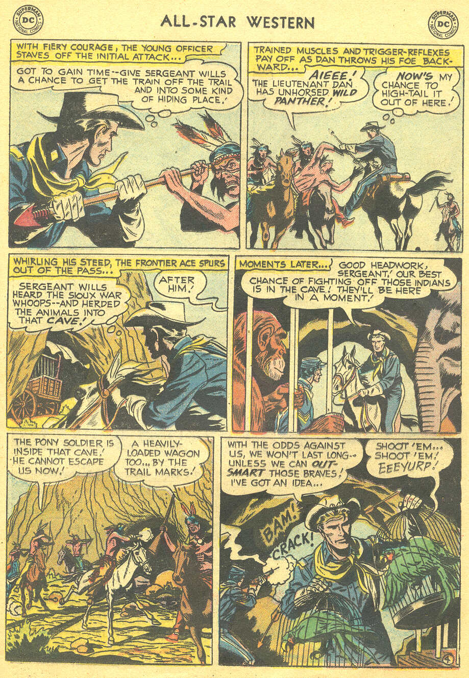 Read online All-Star Western (1951) comic -  Issue #88 - 21