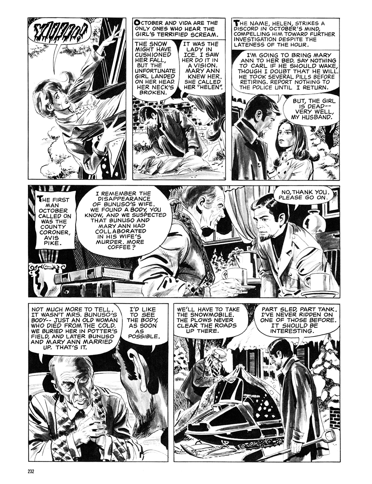 Read online Eerie Archives comic -  Issue # TPB 6 - 231