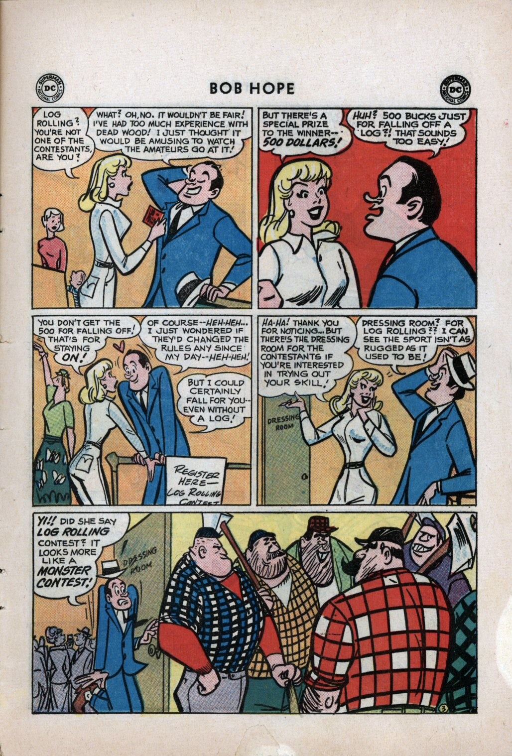 The Adventures of Bob Hope issue 59 - Page 5