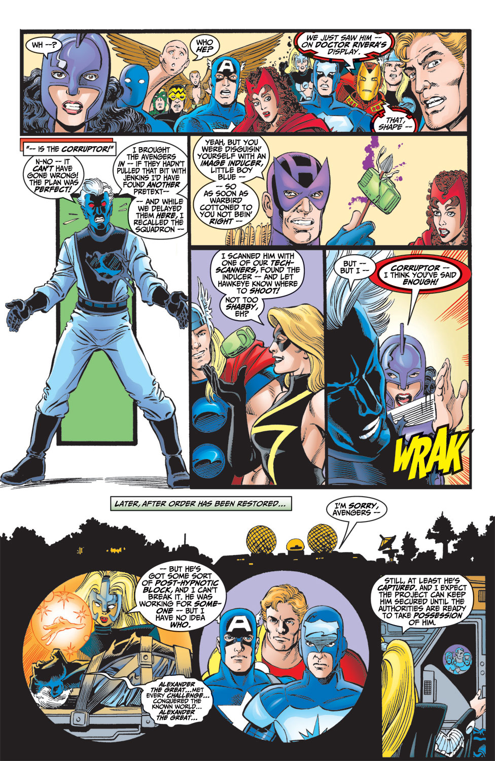 Read online Avengers (1998) comic -  Issue #6 - 21