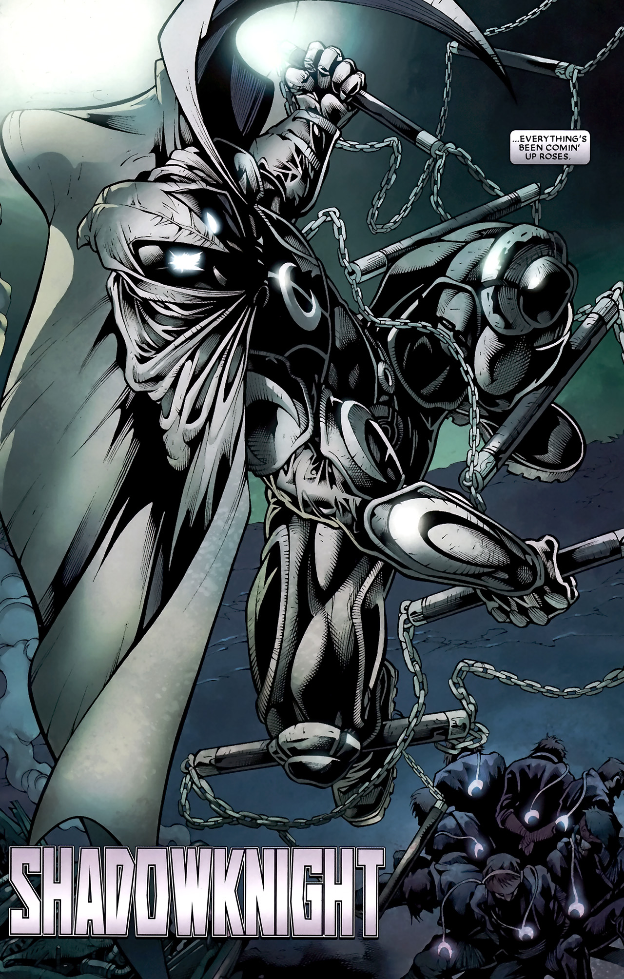 Read online Shadowland: Moon Knight comic -  Issue #1 - 7
