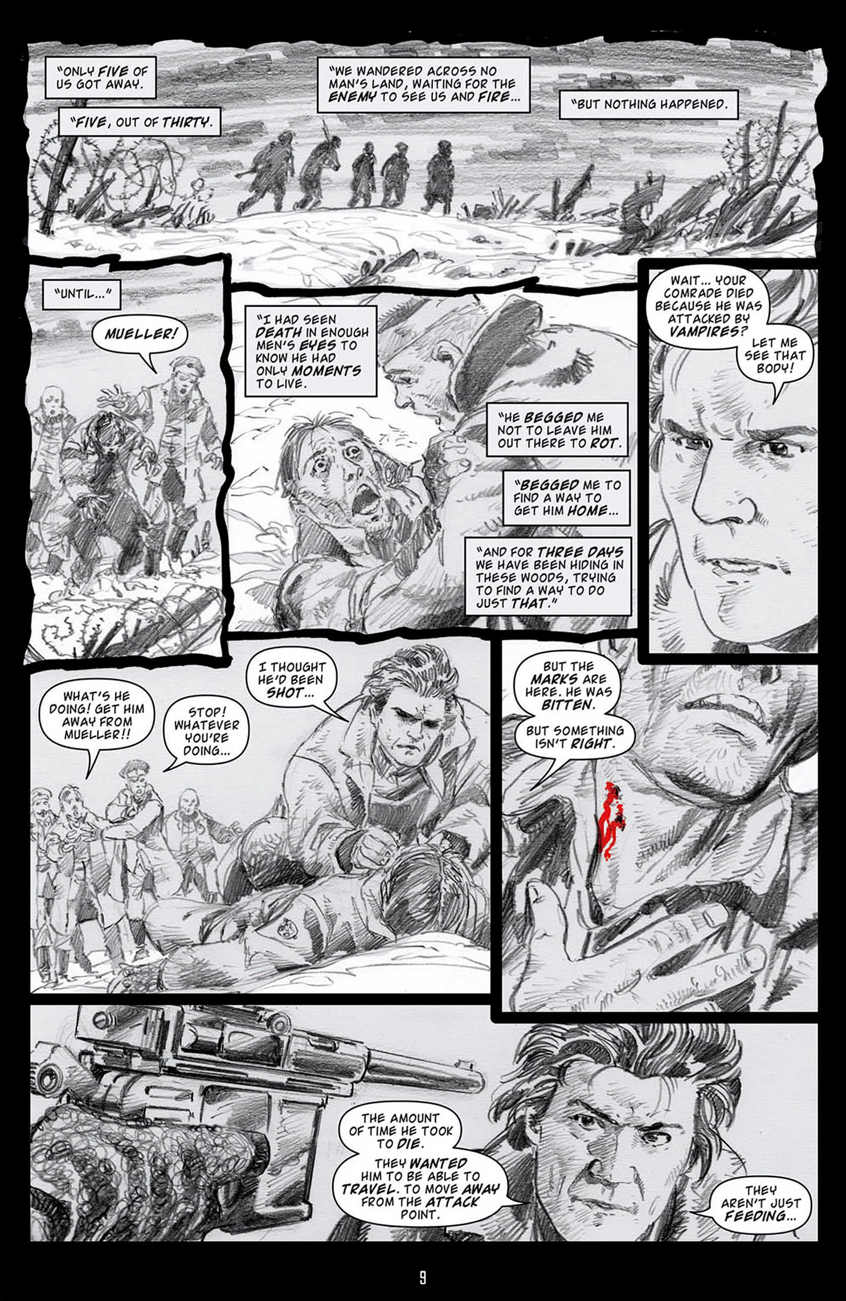 Read online Angel: Blood & Trenches comic -  Issue #2 - 12