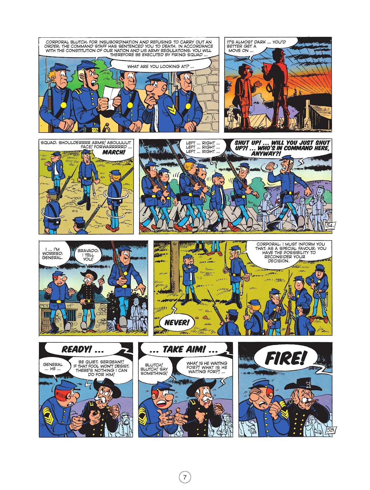 Read online The Bluecoats comic -  Issue #12 - 9