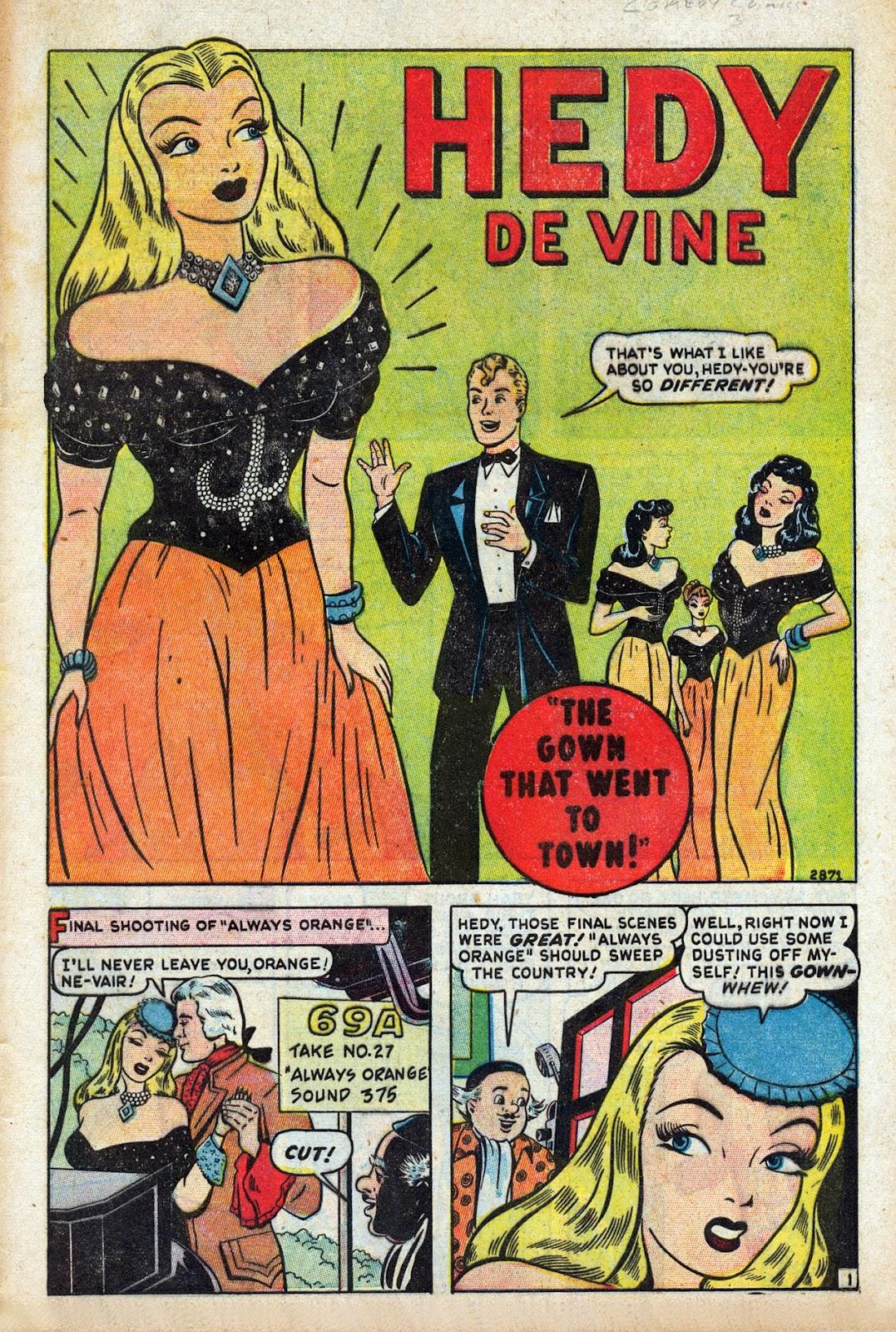 Read online Comedy Comics (1948) comic -  Issue #3 - 3