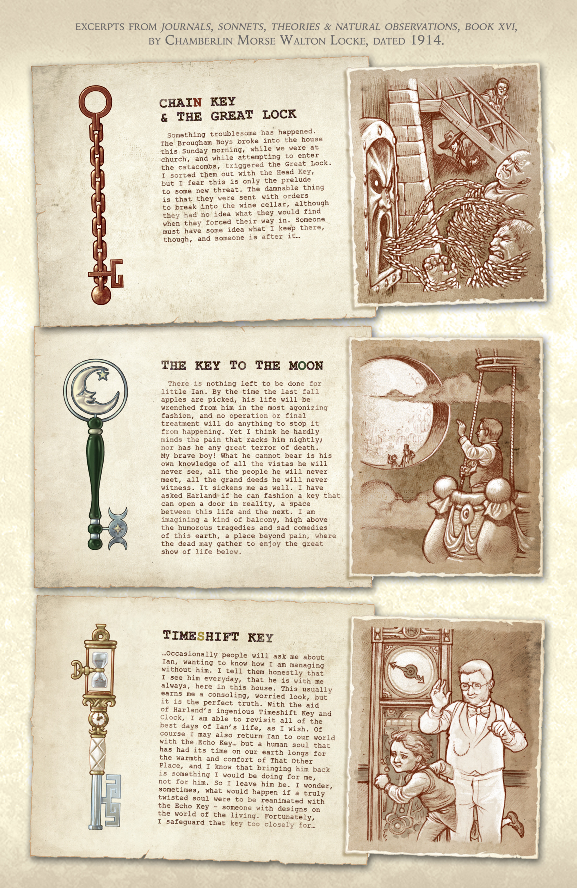 Read online Locke & Key: Guide to the Known Keys comic -  Issue # Full - 23