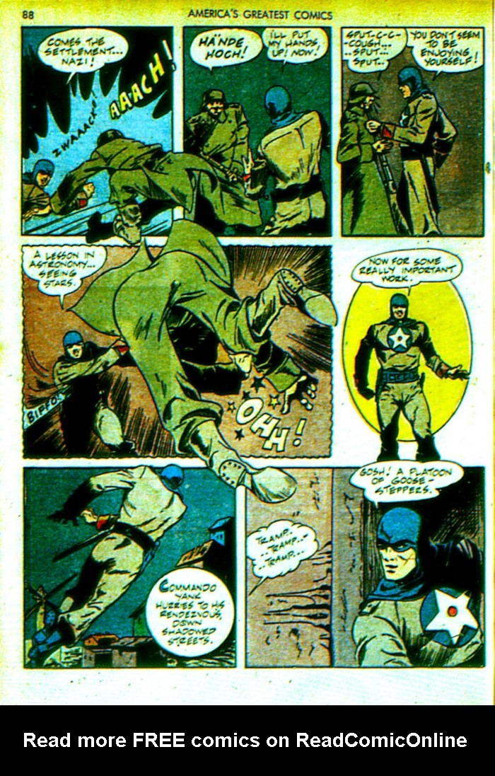 Read online America's Greatest Comics comic -  Issue #4 - 89