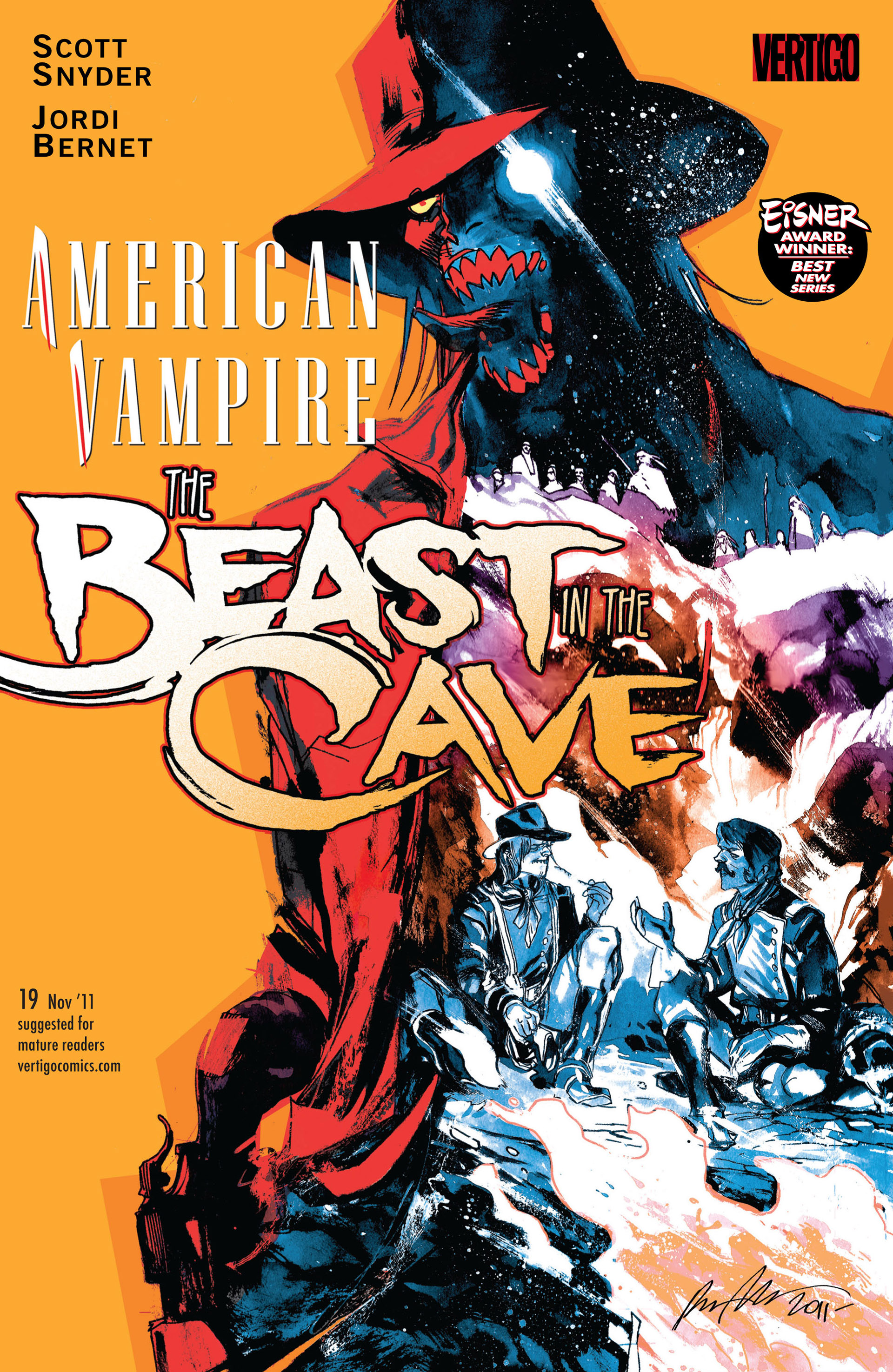 Read online American Vampire comic -  Issue #19 - 1