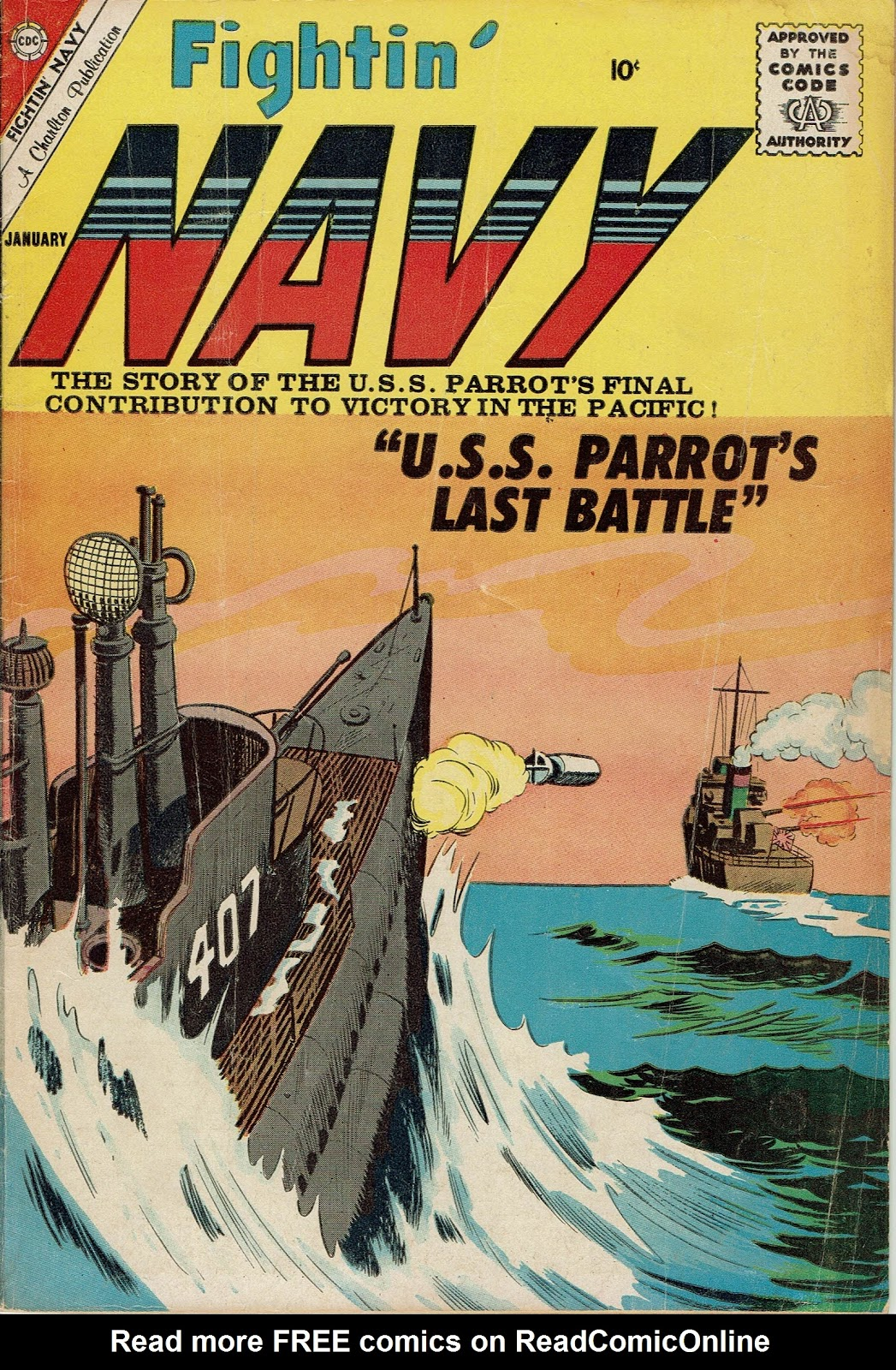 Read online Fightin' Navy comic -  Issue #96 - 1