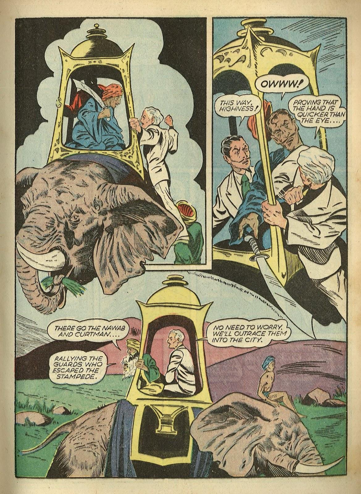 Read online Super-Magician Comics comic -  Issue #1 - 31