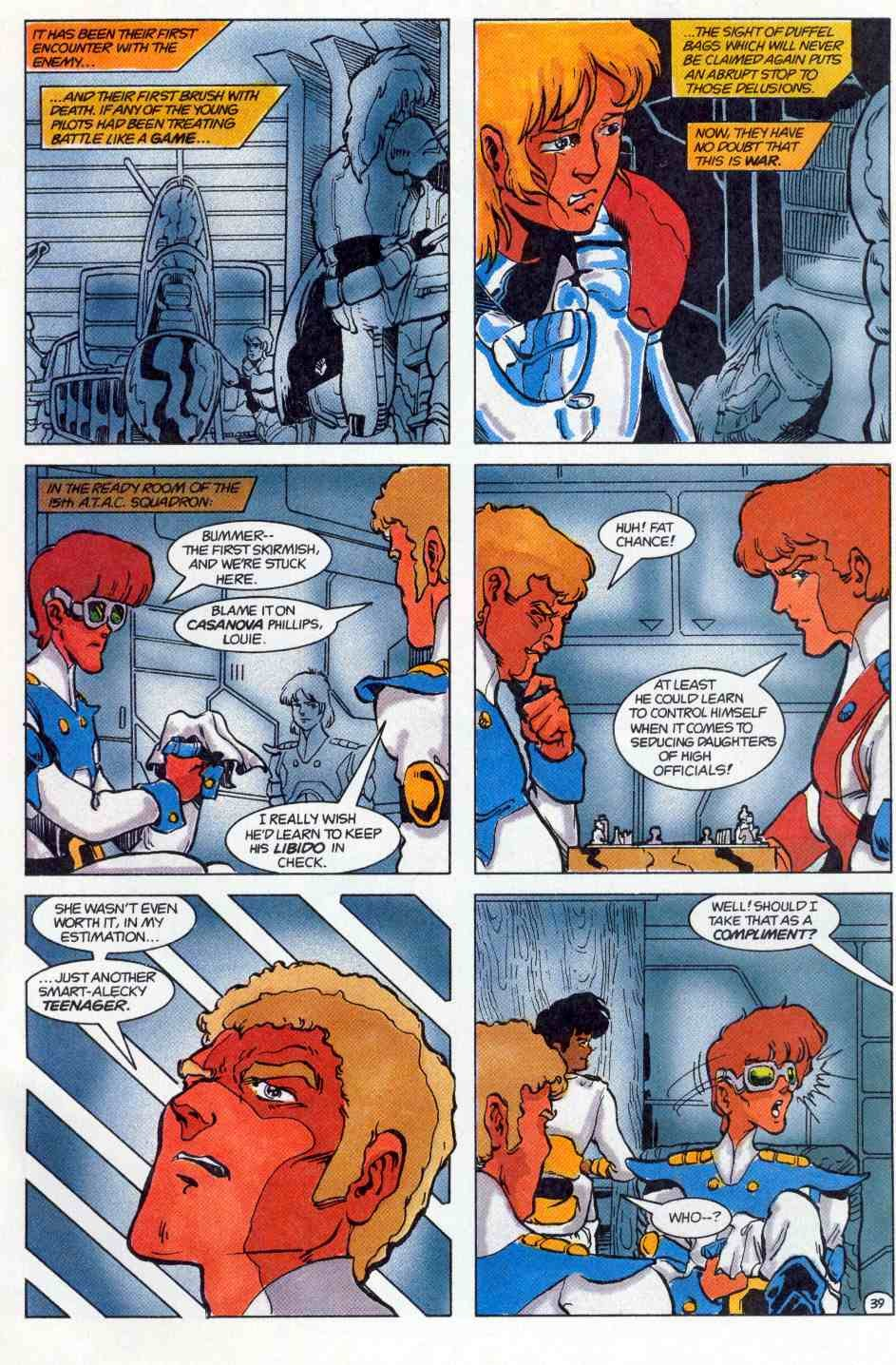 Robotech Special issue Full - Page 40