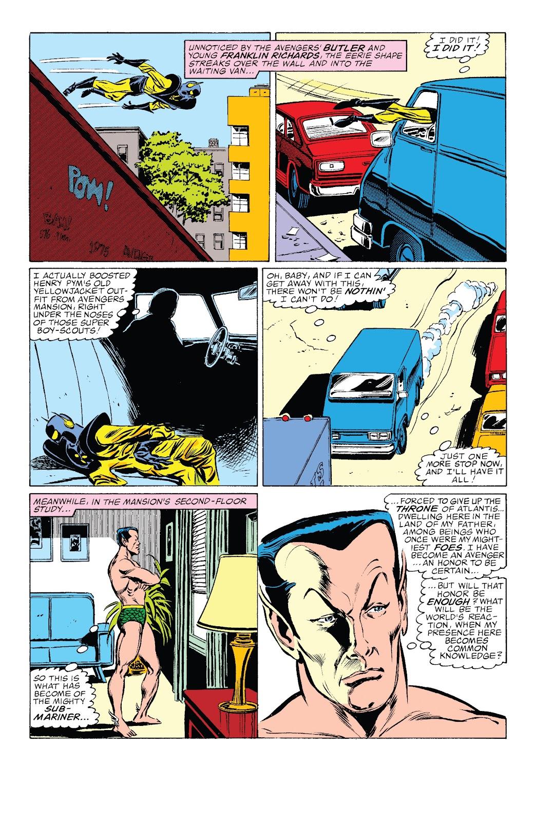 Read online Marvel Tales: Avengers comic -  Issue # Full - 58