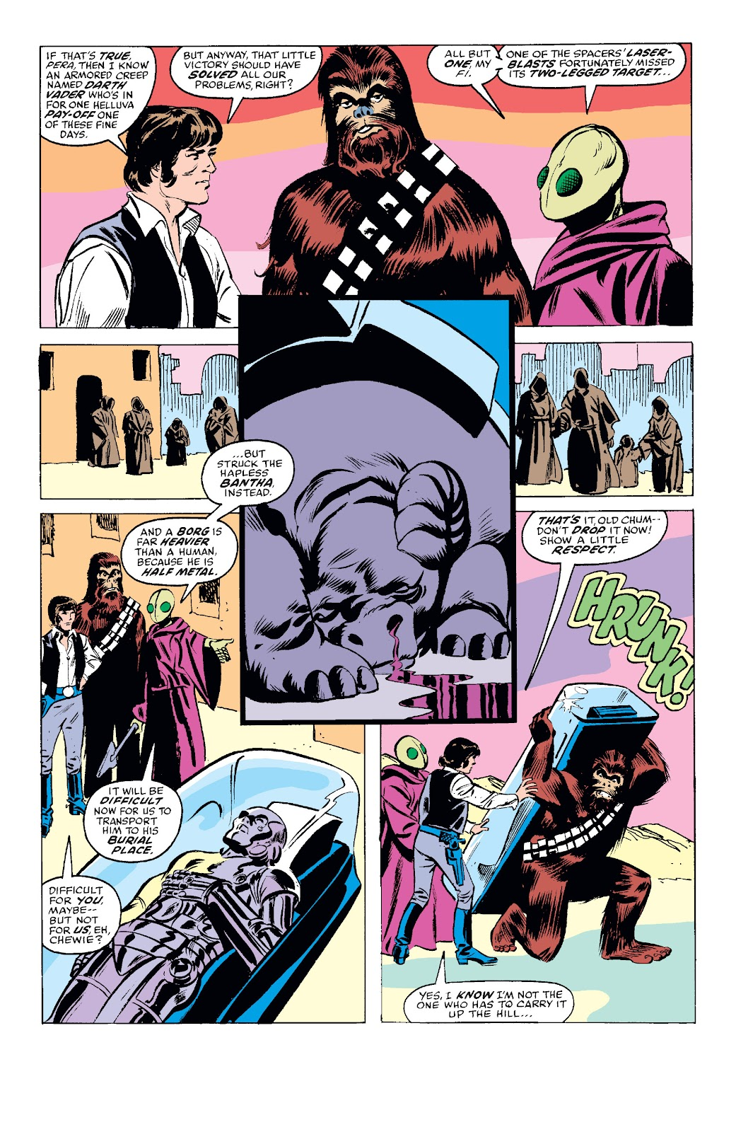 Read online Star Wars Legends: The Original Marvel Years - Epic Collection comic -  Issue # TPB 1 (Part 2) - 32
