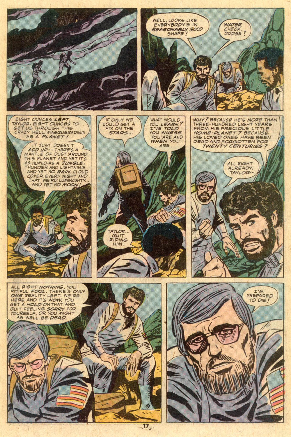 Read online Adventures on the Planet of the Apes comic -  Issue #1 - 12