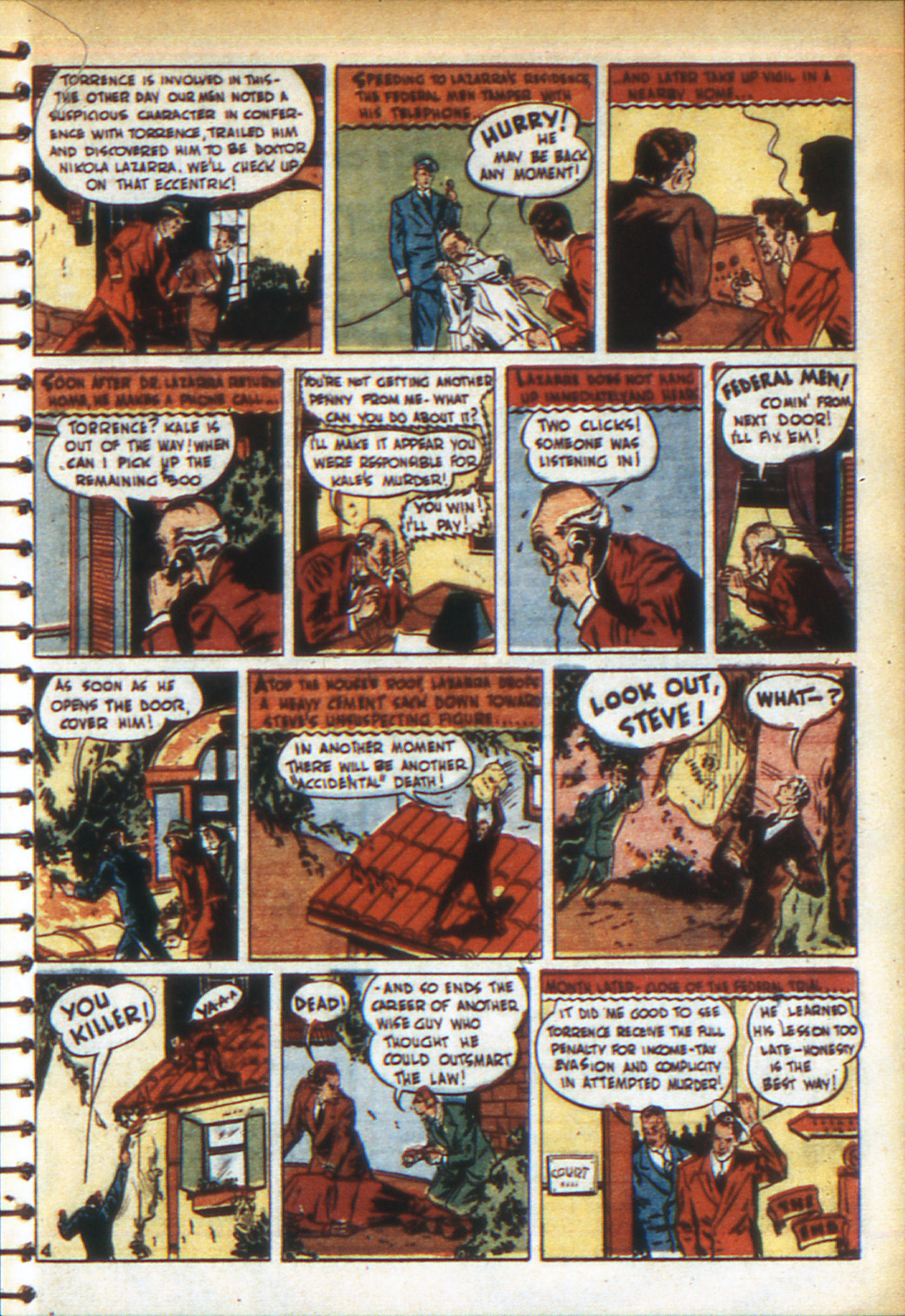 Read online Adventure Comics (1938) comic -  Issue #49 - 21