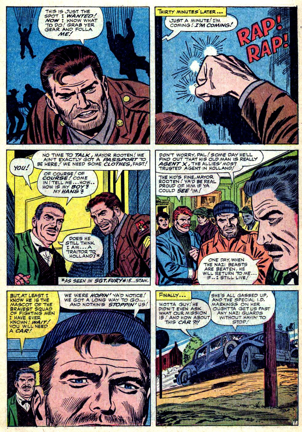 Read online Sgt. Fury comic -  Issue #19 - 11
