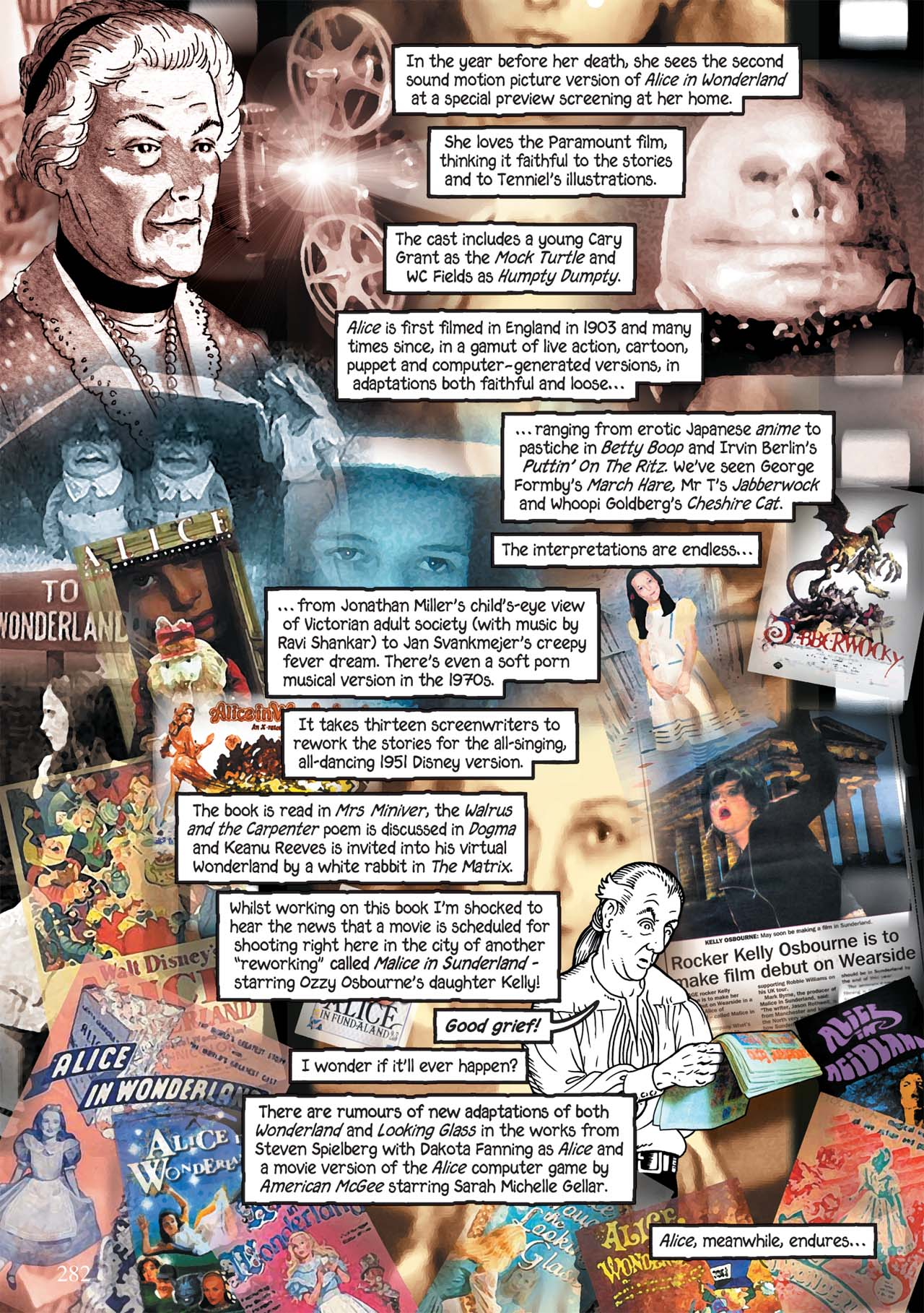 Read online Alice in Sunderland comic -  Issue # Full - 286