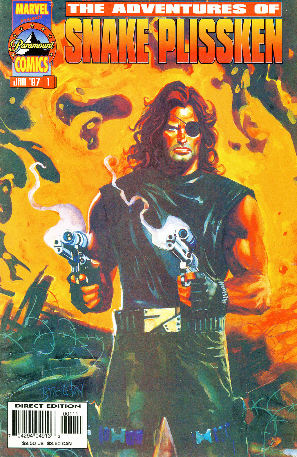 Adventures of Snake Plissken issue Full - Page 1