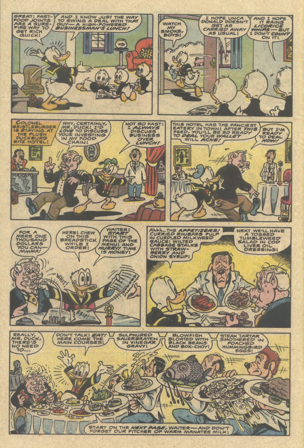 Read online Uncle Scrooge (1953) comic -  Issue #220 - 6
