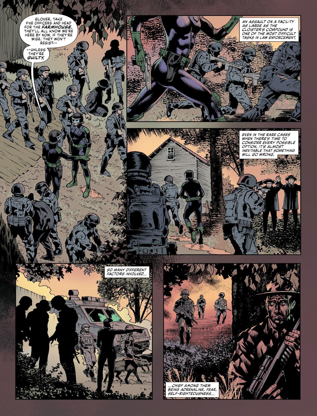 Judge Dredd Megazine (Vol. 5) issue 427 - Page 37