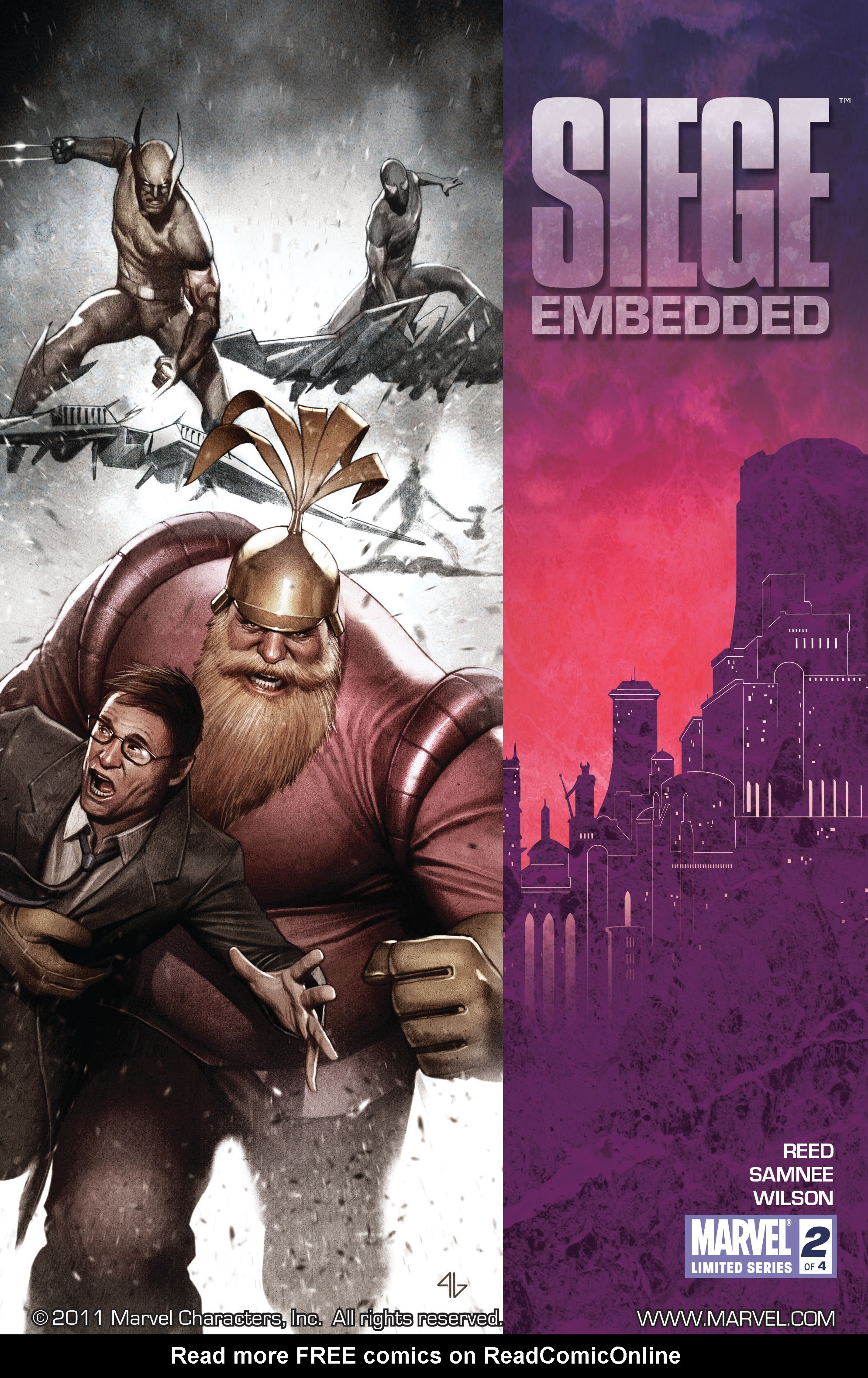 Read online Siege: Embedded comic -  Issue #2 - 1