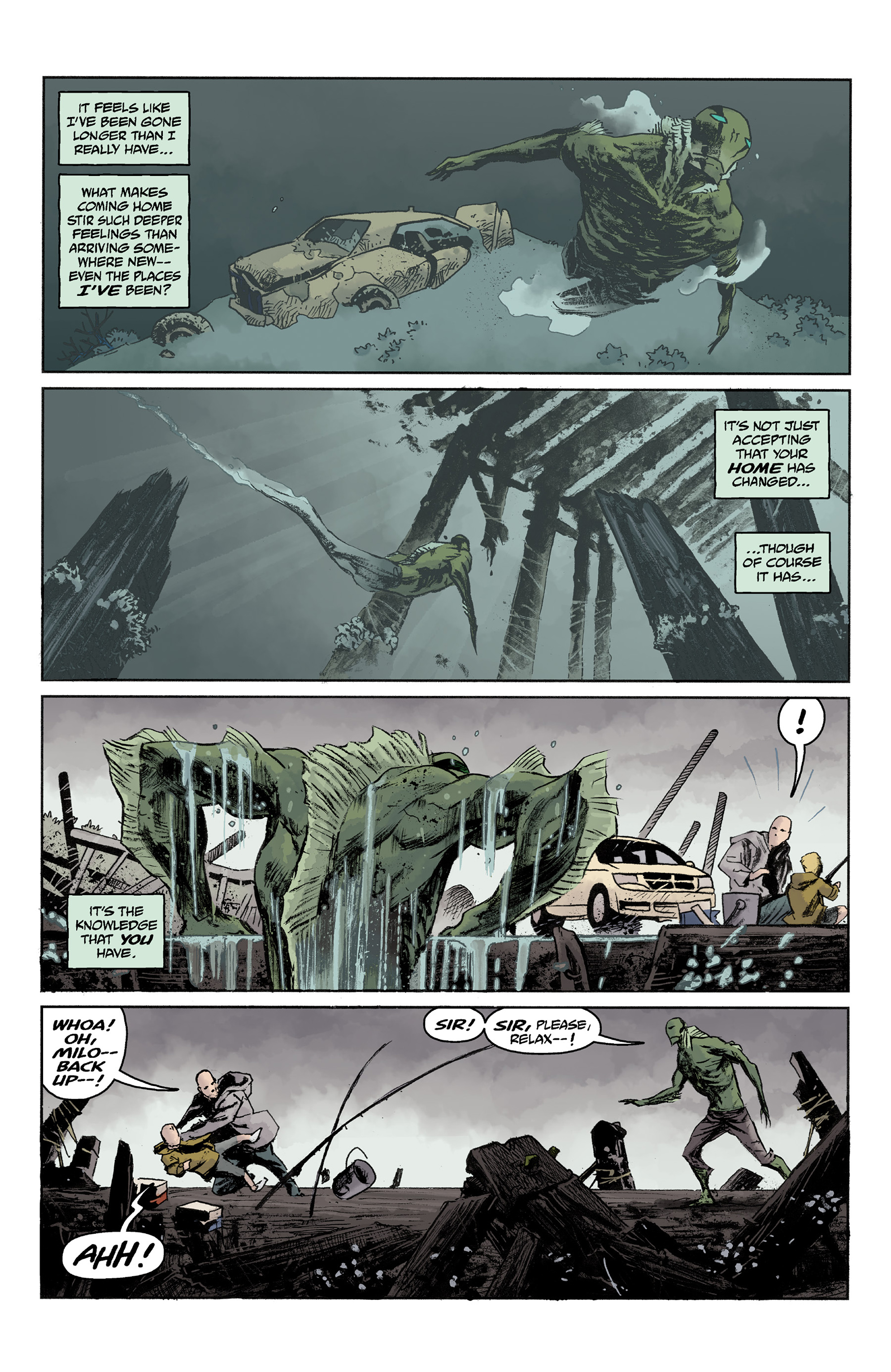 Read online Abe Sapien comic -  Issue #36 - 7