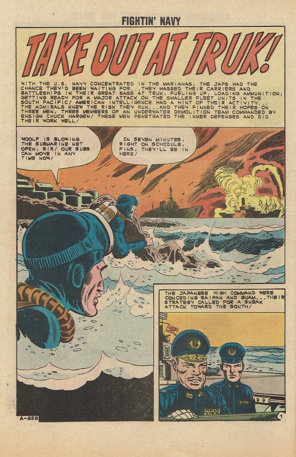 Read online Fightin' Navy comic -  Issue #104 - 26