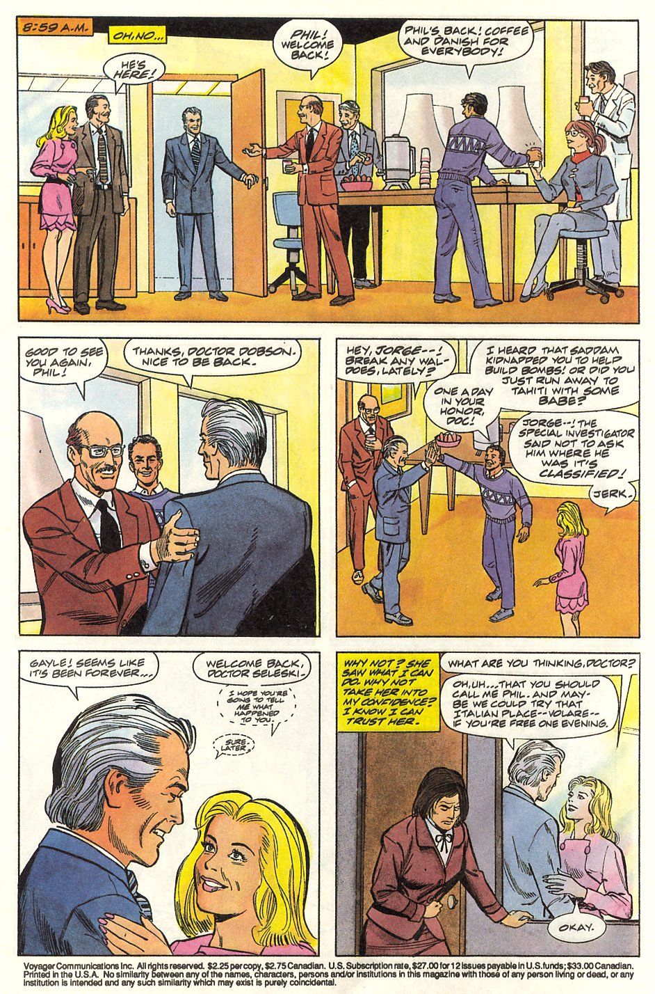Read online Solar, Man of the Atom comic -  Issue #9 - 5