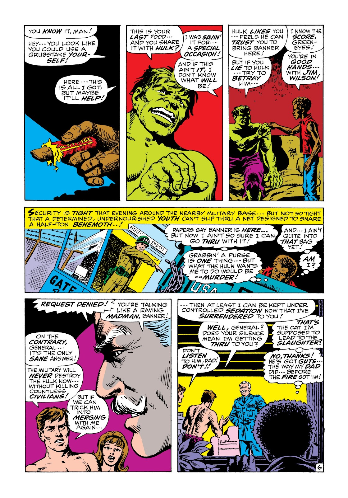 Read online Marvel Masterworks: The Incredible Hulk comic -  Issue # TPB 6 (Part 2) - 100
