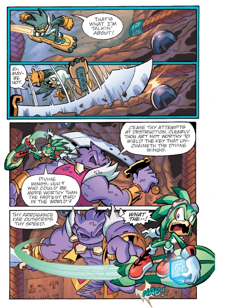 Read online Sonic Comics Spectacular: Speed of Sound comic -  Issue # Full - 154