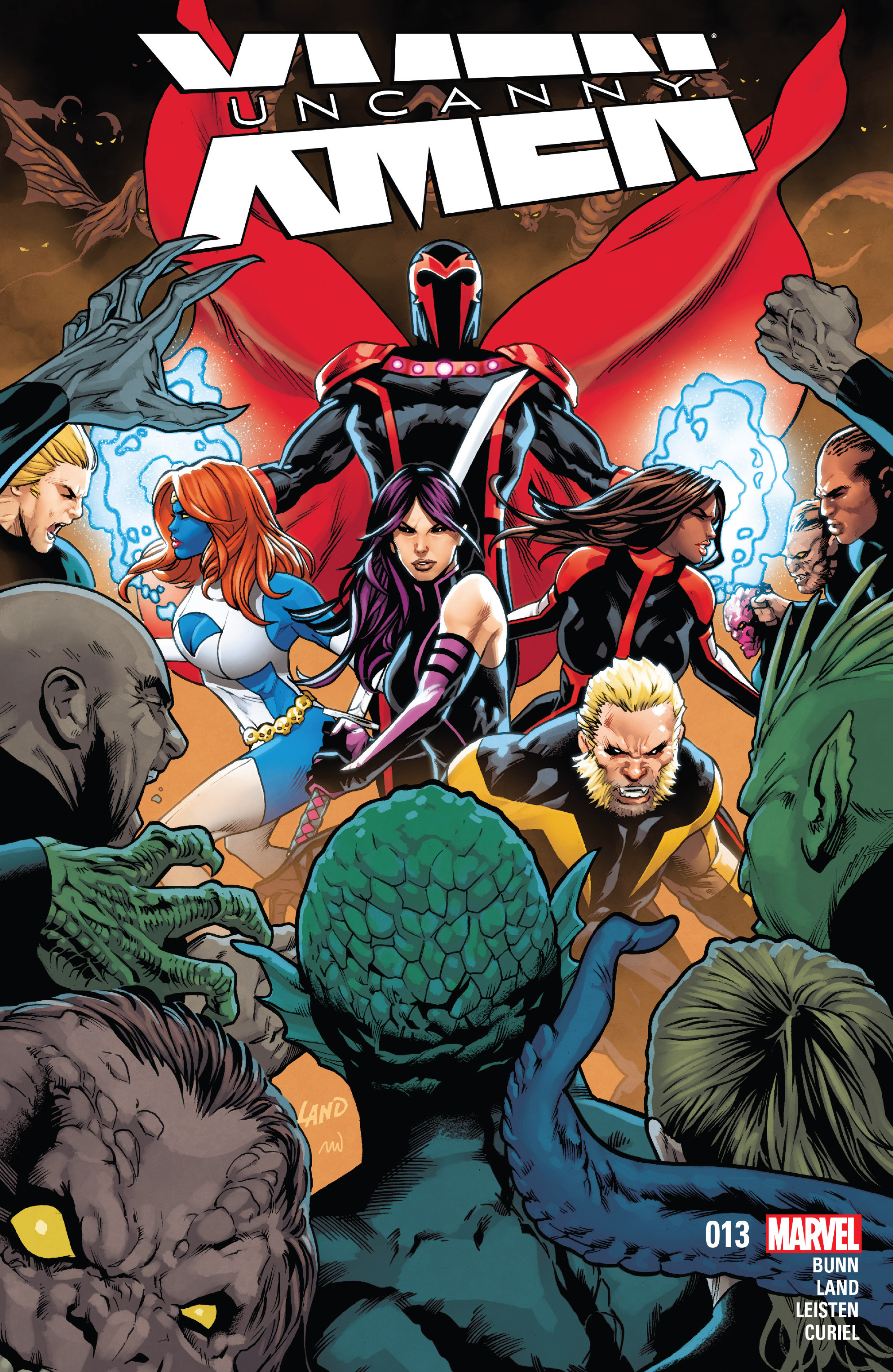 Read online Uncanny X-Men (2016) comic -  Issue #13 - 1