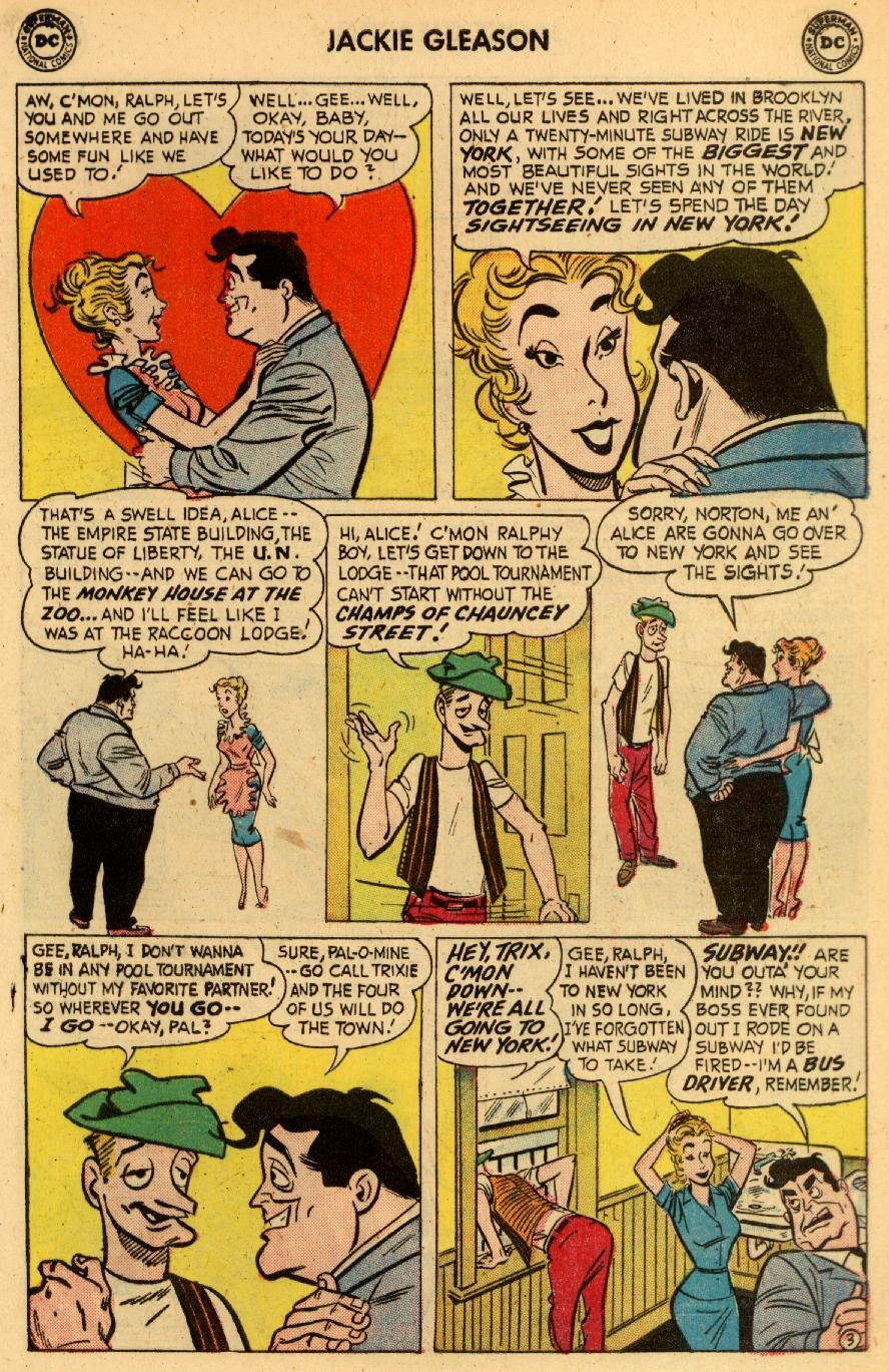 Jackie Gleason and the Honeymooners issue 8 - Page 5