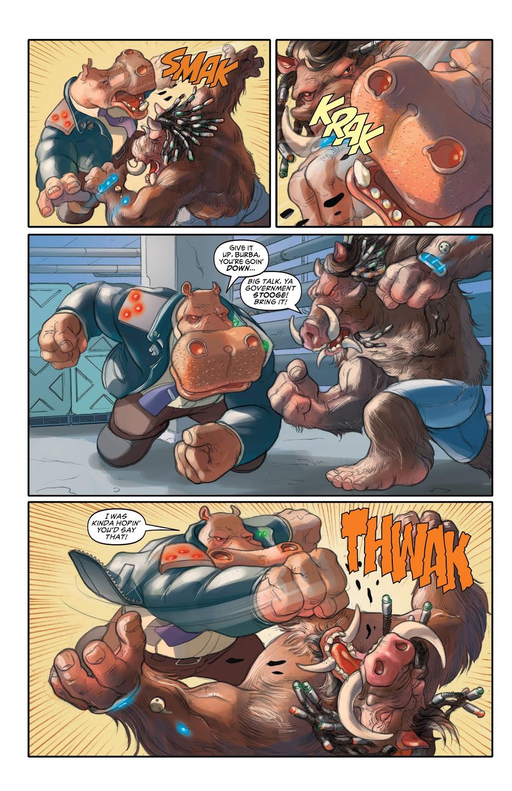 Read online Elephantmen 2261 Season Two: The Pentalion Job comic -  Issue # TPB - 11