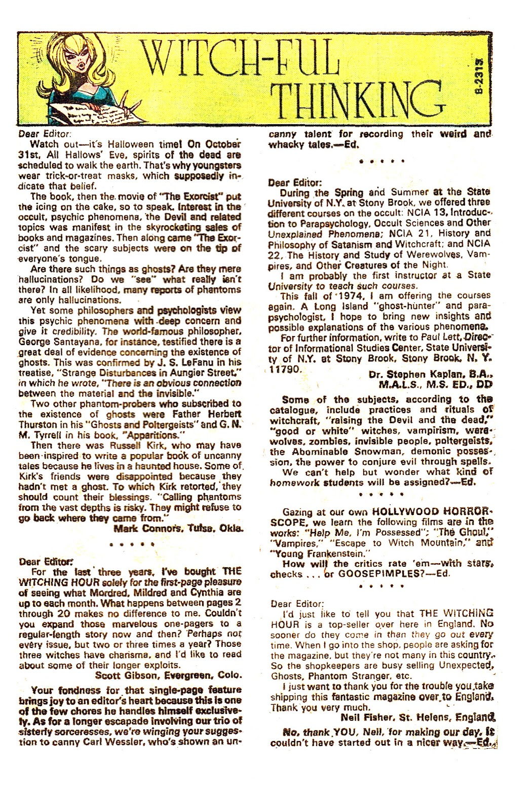 The Witching Hour (1969) issue 50 - Page 32