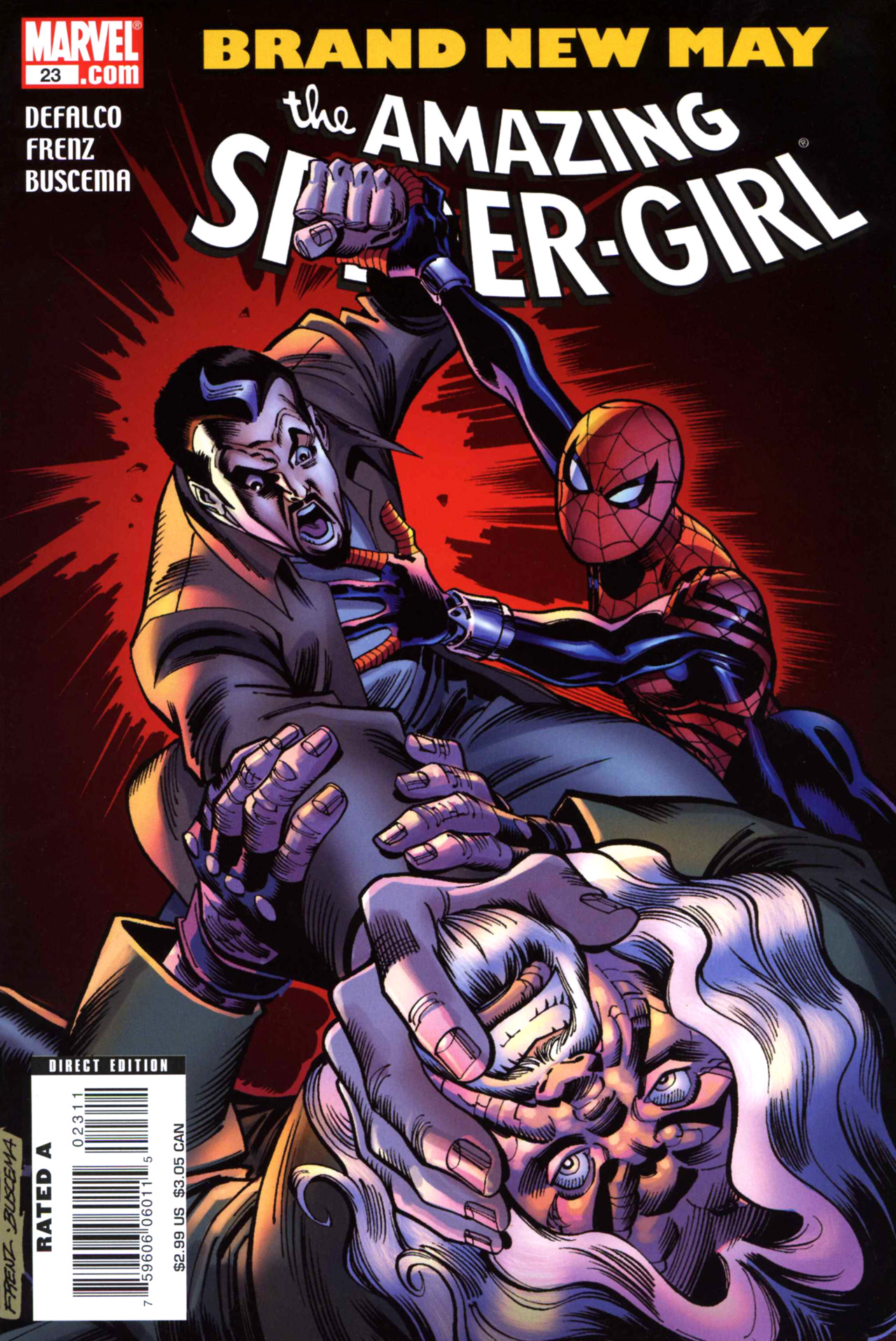 Read online Amazing Spider-Girl comic -  Issue #23 - 1