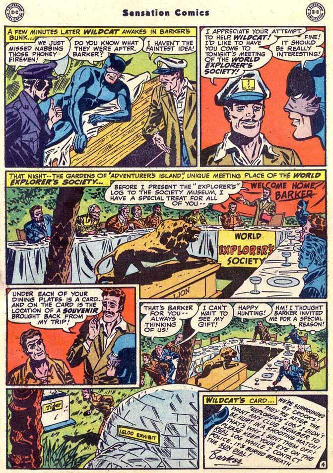 Read online Sensation (Mystery) Comics comic -  Issue #89 - 20