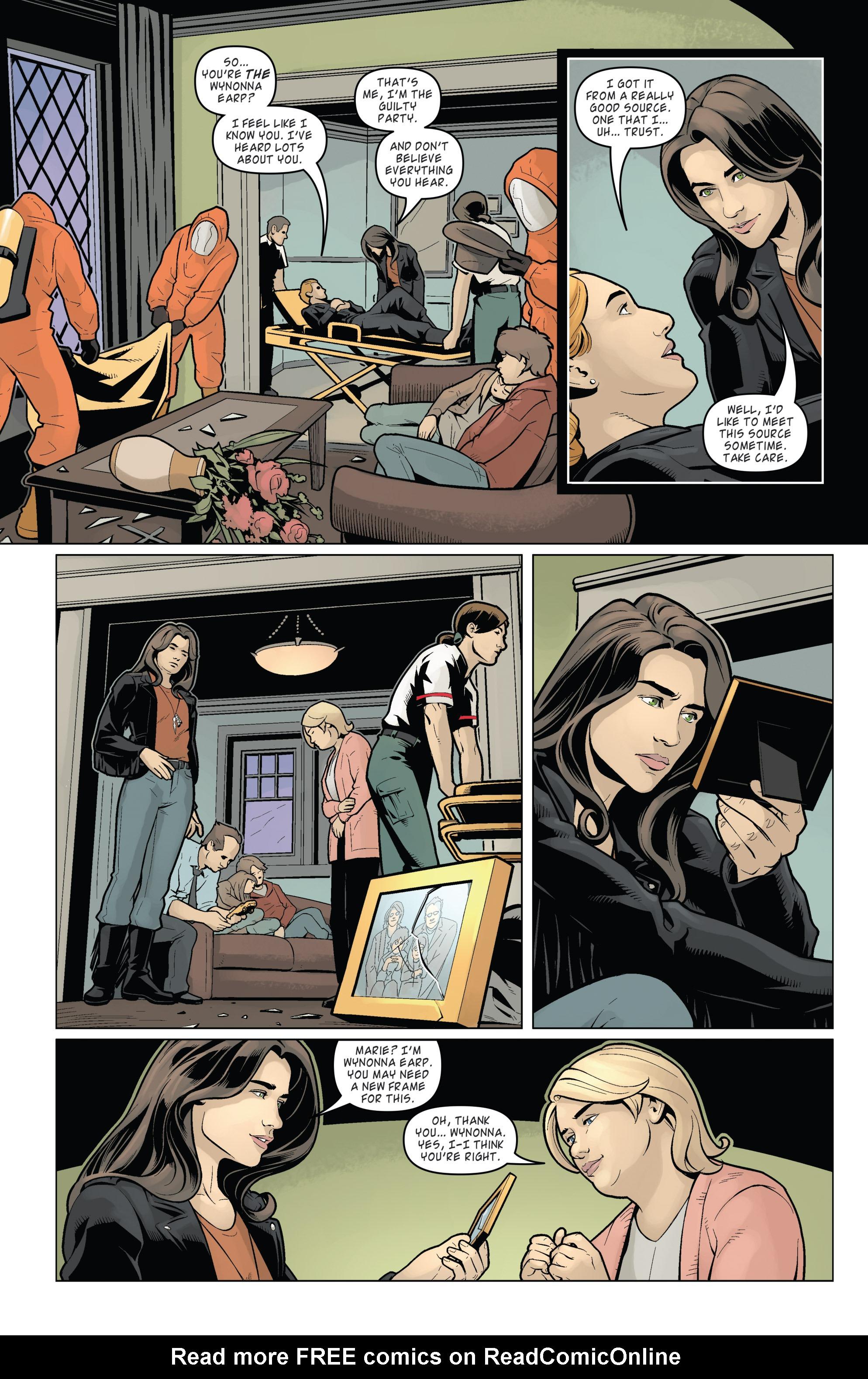 Read online Wynonna Earp (2016) comic -  Issue #8 - 21