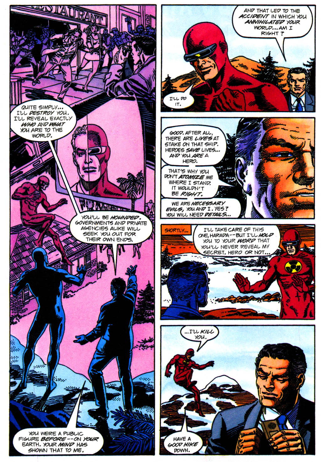 Read online Solar, Man of the Atom comic -  Issue #41 - 12