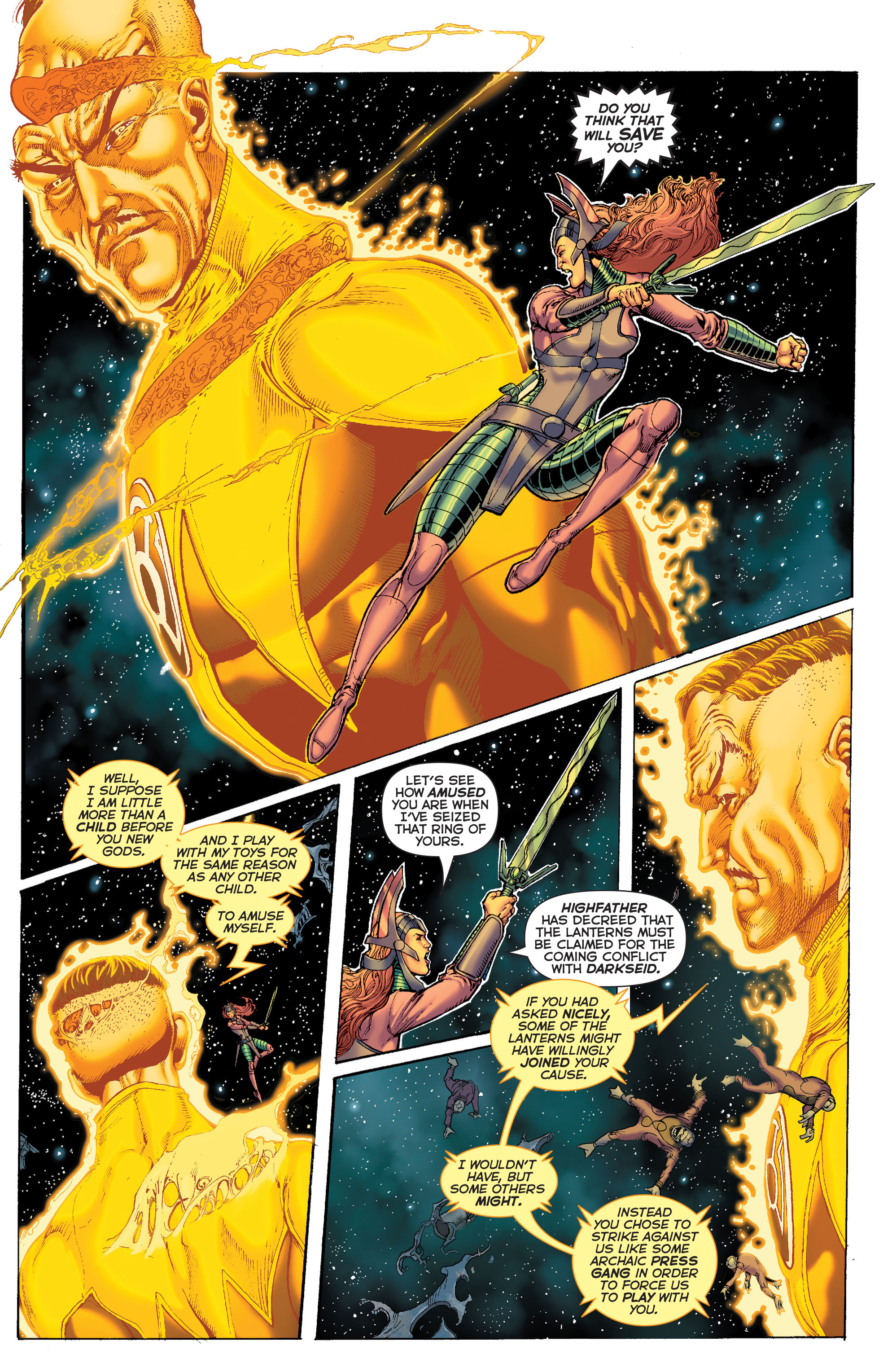 Read online Sinestro comic -  Issue #7 - 5
