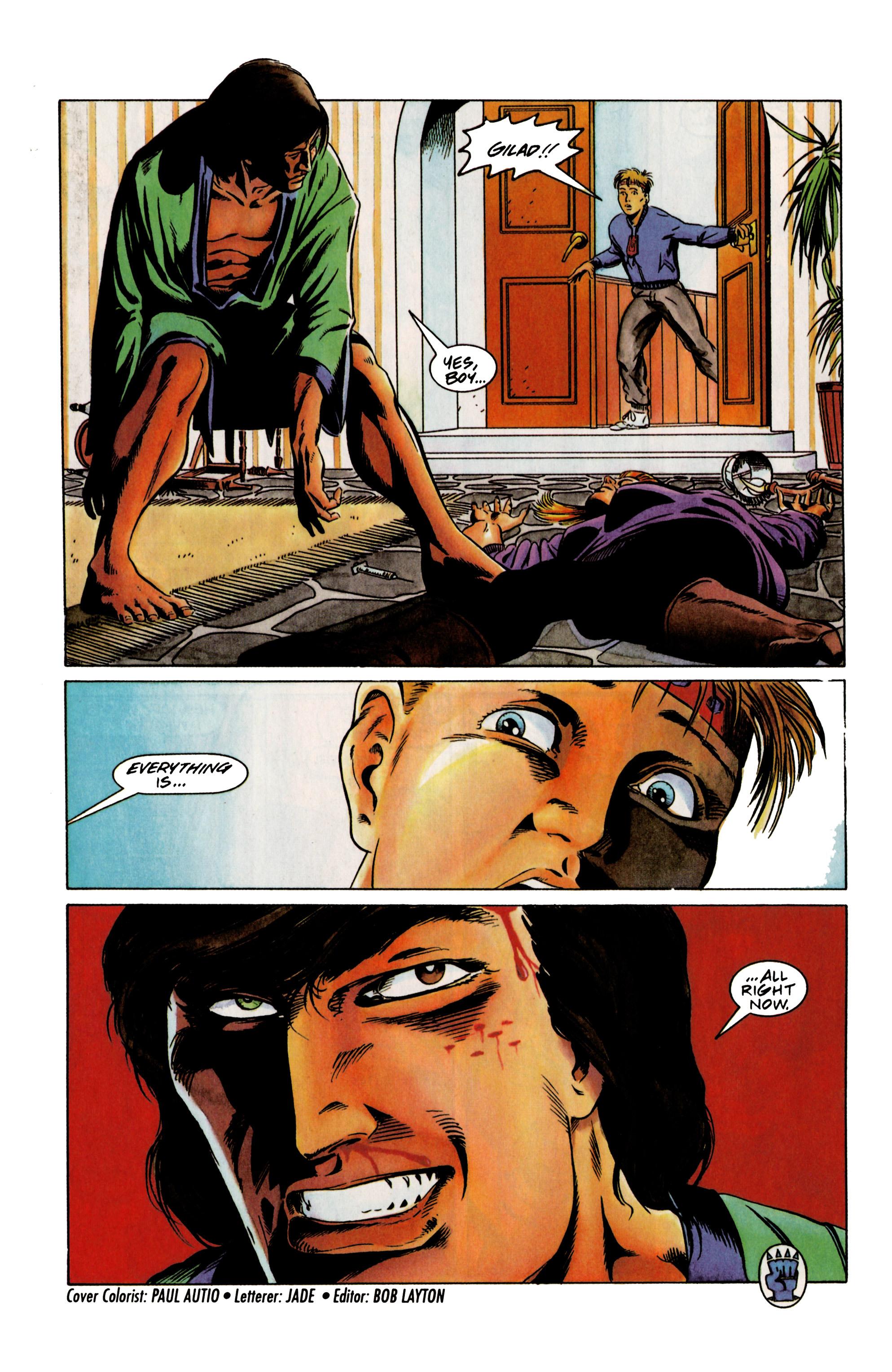Read online Eternal Warrior (1992) comic -  Issue #12 - 22